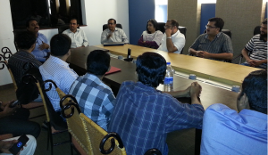 CaFIT Meeting chaired by Anvar T K