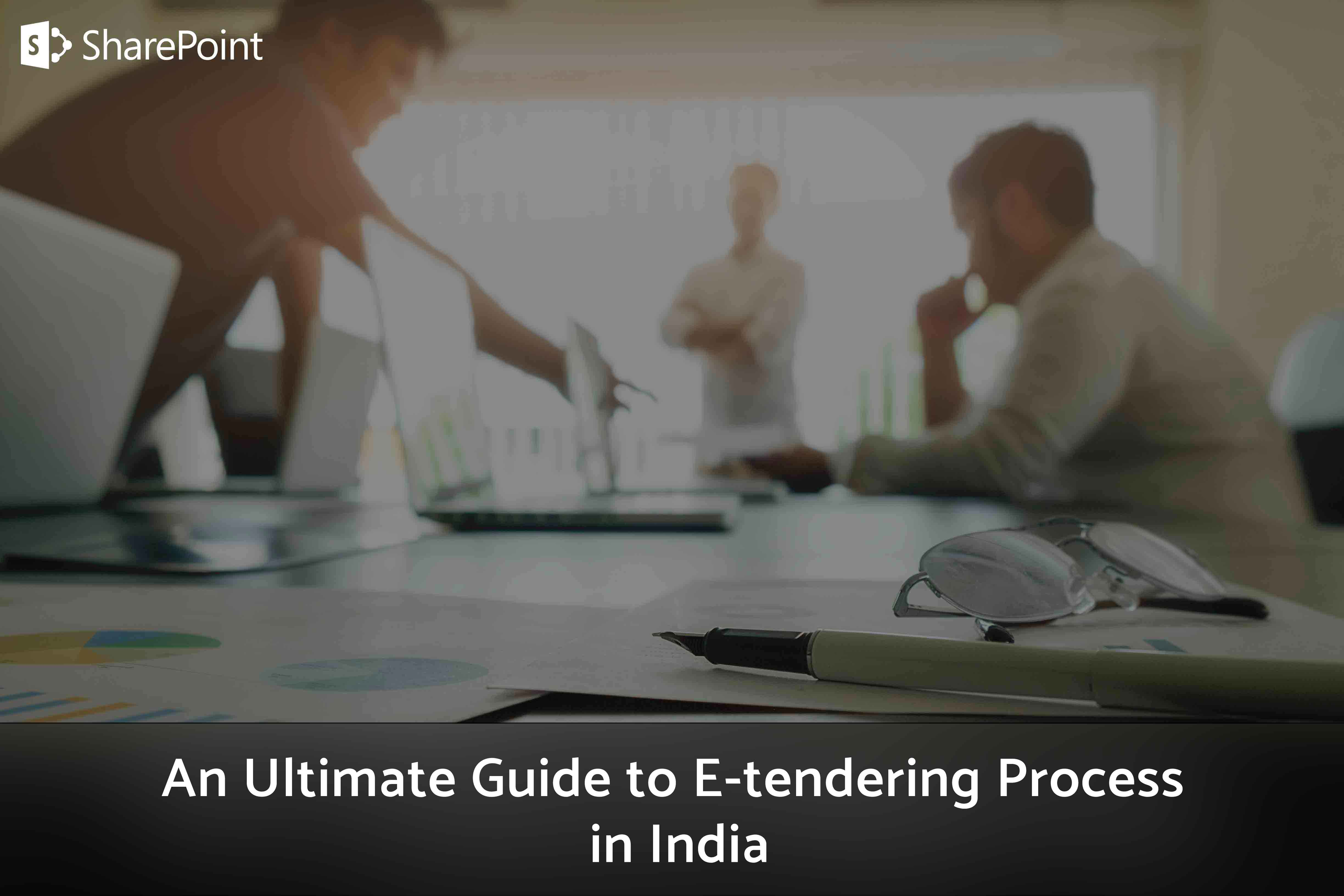 E-tendering Process in India