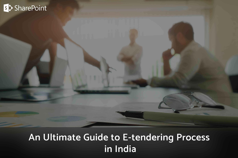 e tendering process