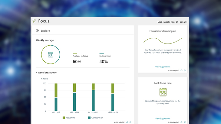 myanalytics dashboard