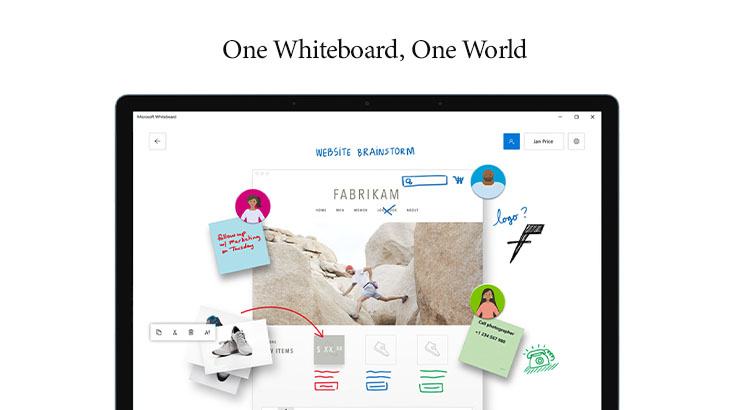 an online whiteboard screenshot