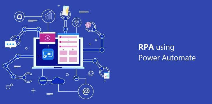 an illustration of rpa using power automate
