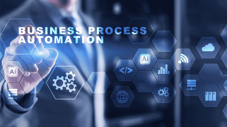 an illustration of Buisness Process Automation